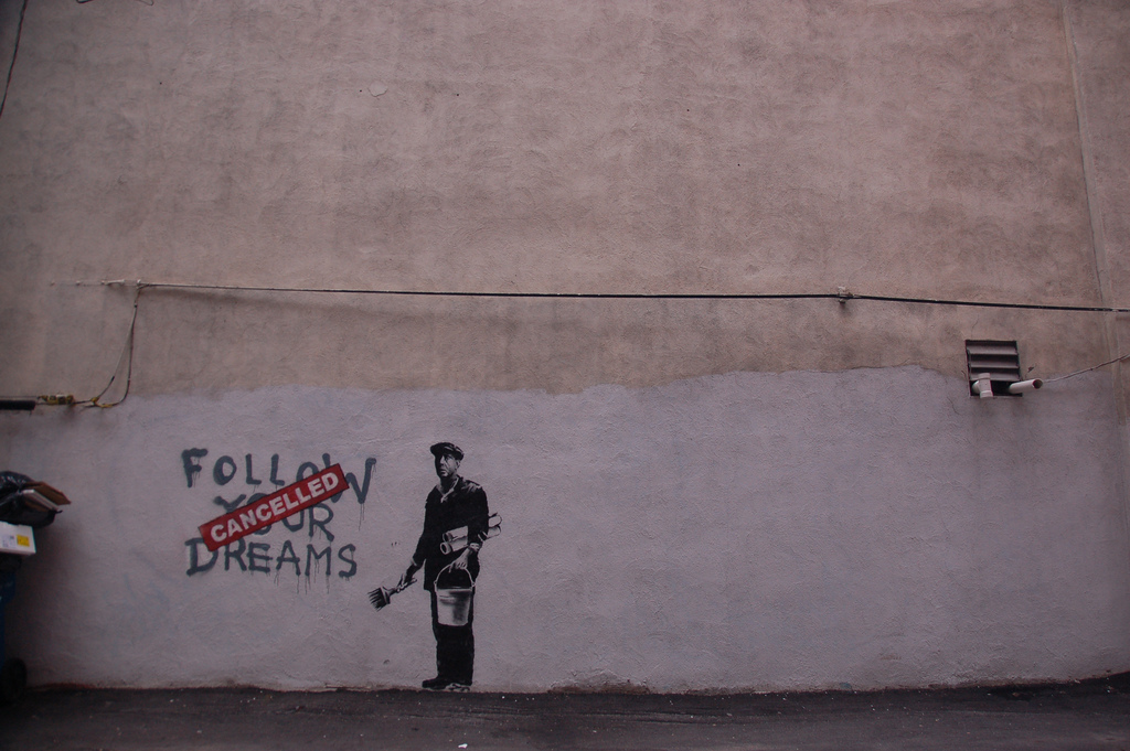 Banksy in Boston by Chris Devers licensed by CC BY-NC-ND 2.0