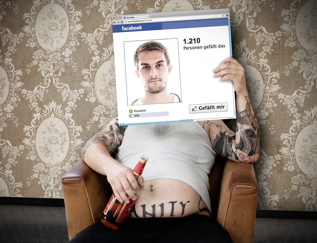 Facebook for real by Christoph Aigner
