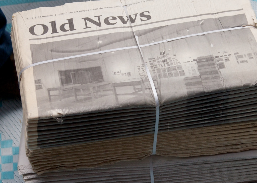 Old News by Doug Wheller licensed under CC BY-NC-SA 2.0